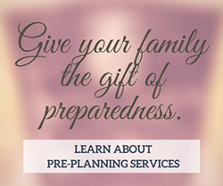 funeral service pre-planning
